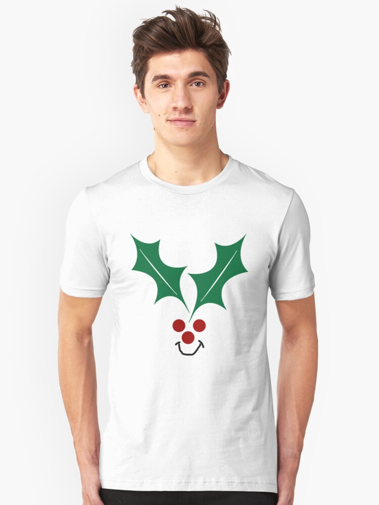 Happy Hollydays Christmas T-Shirt by simpsonvisuals