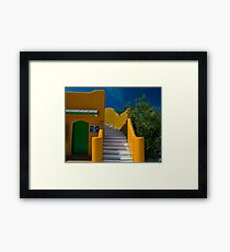 First Aid Post Framed Print
