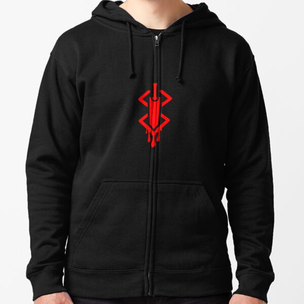 Marque de sacrifice avec Dragon Slayer Veste zippée à capuche