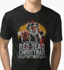 Red Dead Xmas Tri-blend T-Shirt