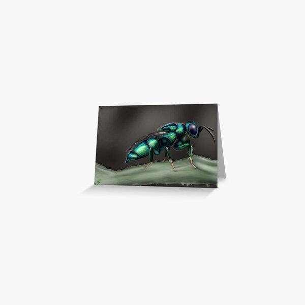 Cuckoo Wasp Greeting Card