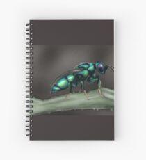 Cuckoo Wasp Spiral Notebook