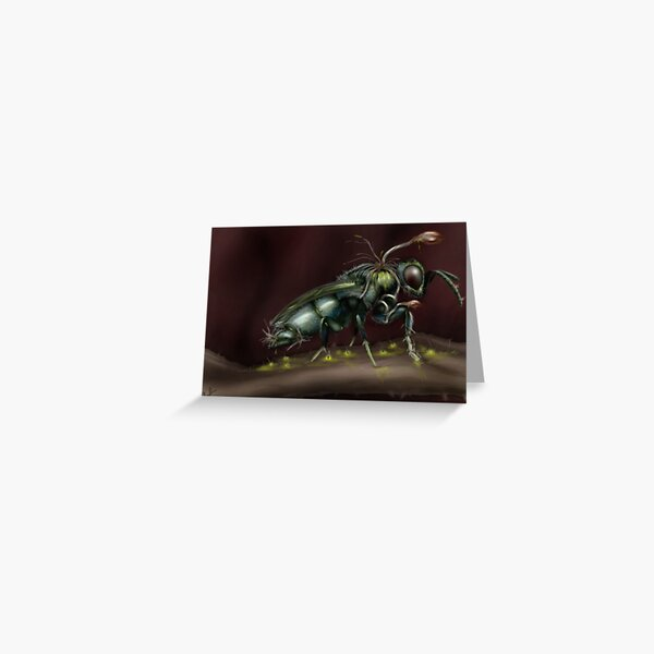 """""""Infested"""" Greeting Card"""