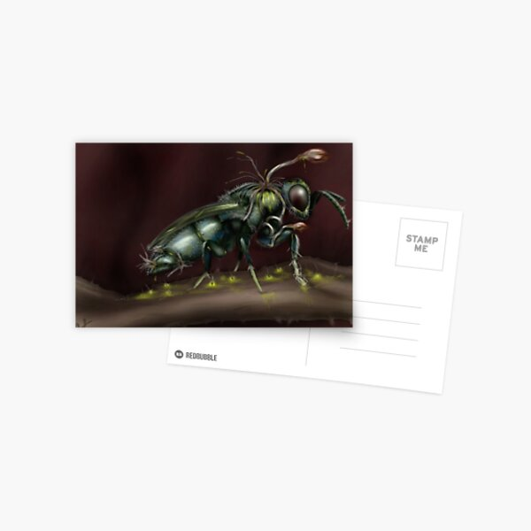 """""""Infested"""" Postcard"""