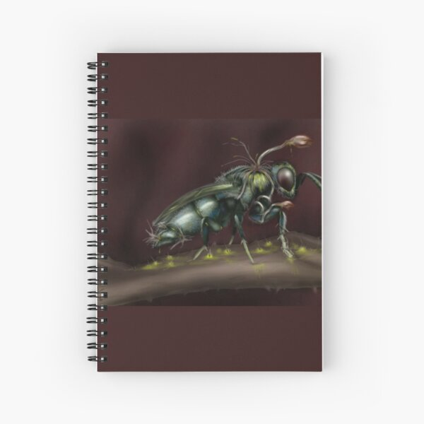 """Infested"" Spiral Notebook"