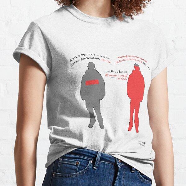 Criaturas Sintientes - HOMBRE/FONDO CLARO  Camiseta clásica