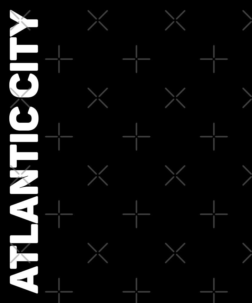 Atlantic City T-Shirt by designkitsch