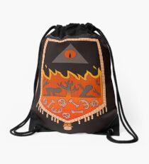 Bill Cipher Tapestry  Drawstring Bag