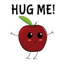 Hug the little apple by PaunLiviu