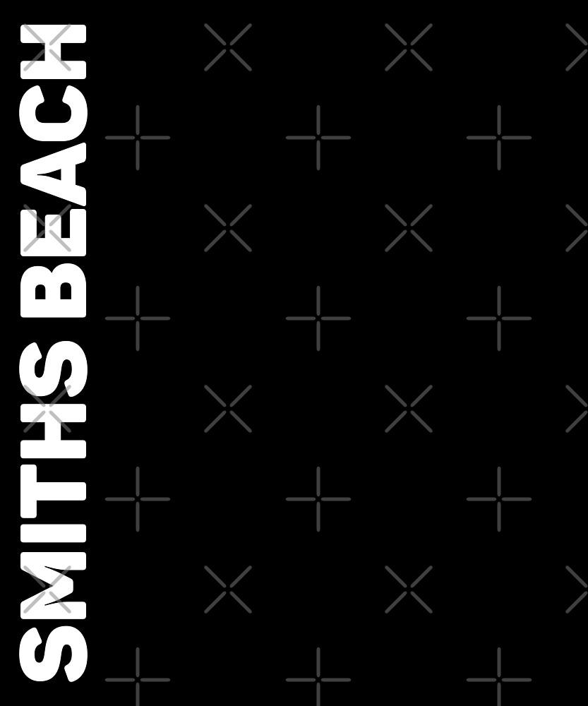 Smiths Beach T-Shirt by designkitsch