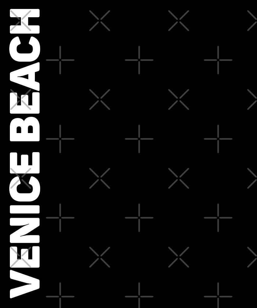 Venice Beach T-Shirt by designkitsch