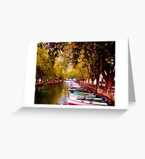 Annecy, France Greeting Card