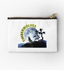 Timberwolves Collectors T-shirts and Stickers Studio Pouch