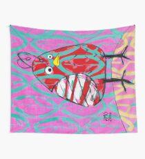 Gum Drop Bird Wall Tapestry