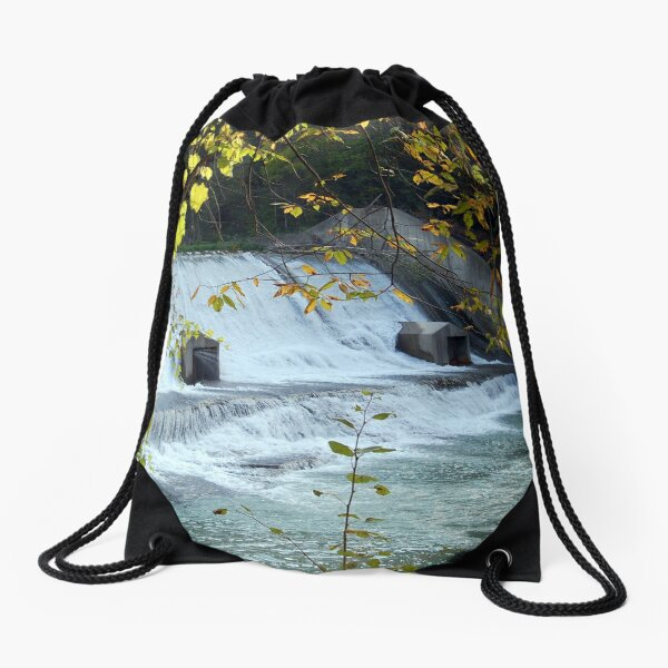 Dam... That's Pretty! Drawstring Bag