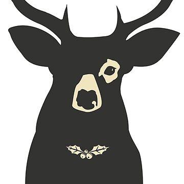 deer  by silemhaf