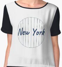 New York Yankees Chiffon Top