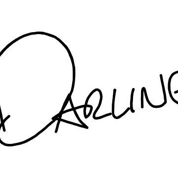 Darling Styles Handwriting Design by livstuff