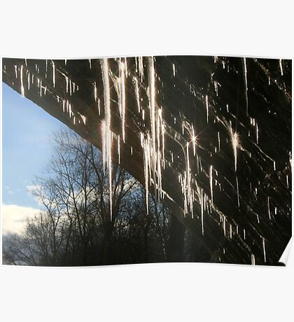 DAZZLING ICICLES Poster