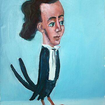 Chopin bird by diegomanuel