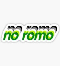 No Romo Sticker