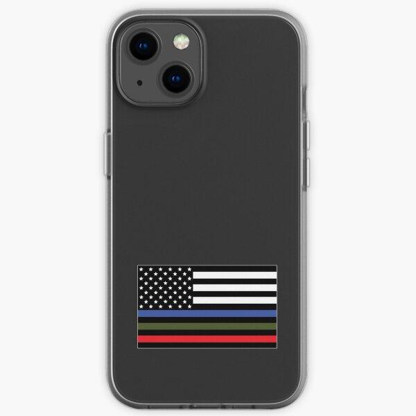 Militär und Feuerwehr Männer und Frauen. iPhone Flexible Hülle