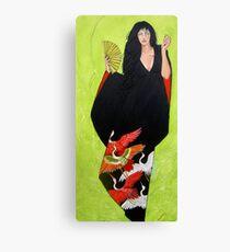 In Her Kimono Canvas Print