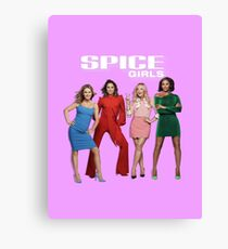 Spice World Tour 2019 Girls Canvas Print