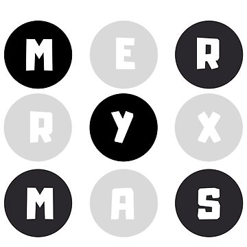 Merry Xmas - Christmas Greetings Holidays (Design Day 309) by TNTs