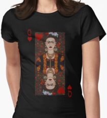 Frida,  Queen of Hearts II Women's Fitted T-Shirt