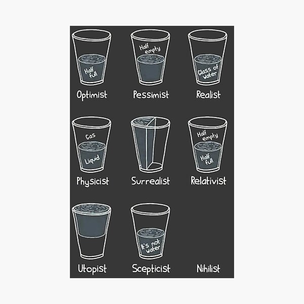 Cup Philosophy Photographic Print