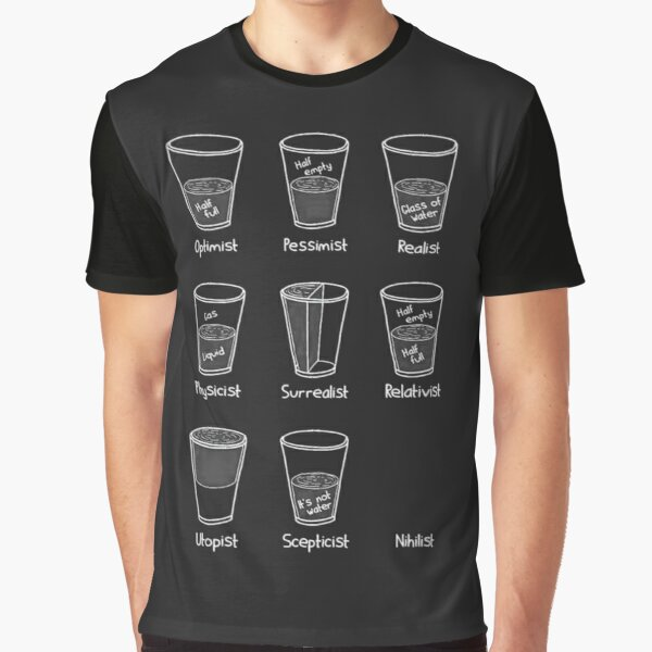 Cup Philosophy Graphic T-Shirt