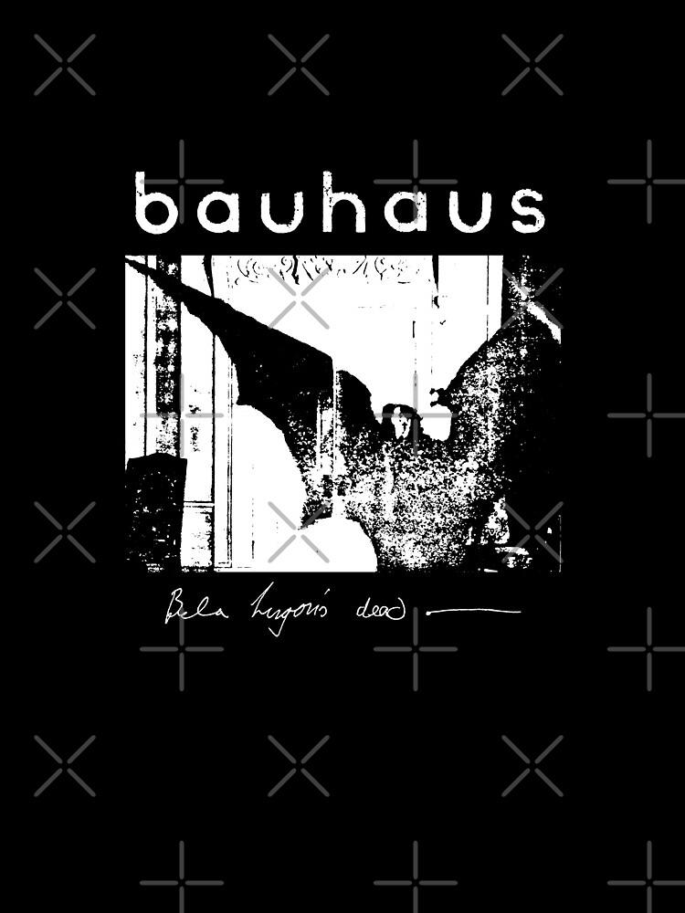 Bauhaus - Bat Wings - Bela Lugosi's Dead by createdezign