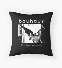 Bauhaus - Bat Wings - Bela Lugosi's Dead Throw Pillow