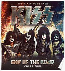 end of the road tour 2019 kiss me subarja Poster
