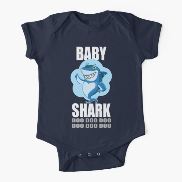 Baby Alan Roblox Baby Shark Kids Songs Short Sleeve Baby One Piece Redbubble