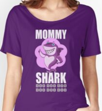 Mommy Shark Women's Relaxed Fit T-Shirt