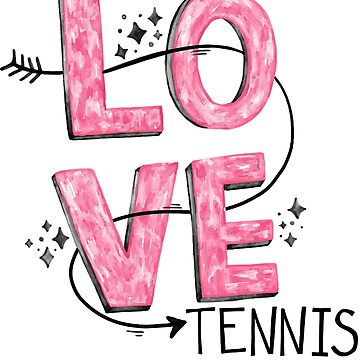 Tennis Shirt Sport Racket Tennis Ball Gift by Rueb