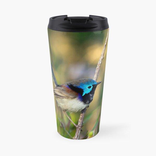 Variegated Fairy Wren, Maleny Queensland Travel Mug