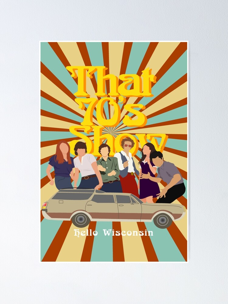 Alternate view of That 70s Show Poster