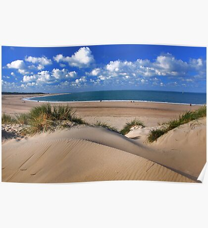 My beautiful North Sea Beach Poster