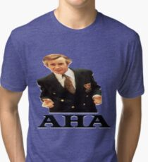 "Alan Partridge ""AHA"" Tri-blend T-Shirt"
