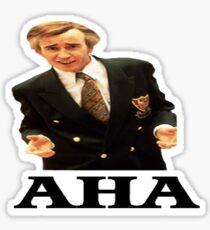 "Alan Partridge ""AHA"" Sticker"