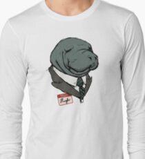 Hugh Manatee Long Sleeve T-Shirt