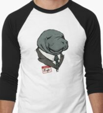 Hugh Manatee Baseball ¾ Sleeve T-Shirt