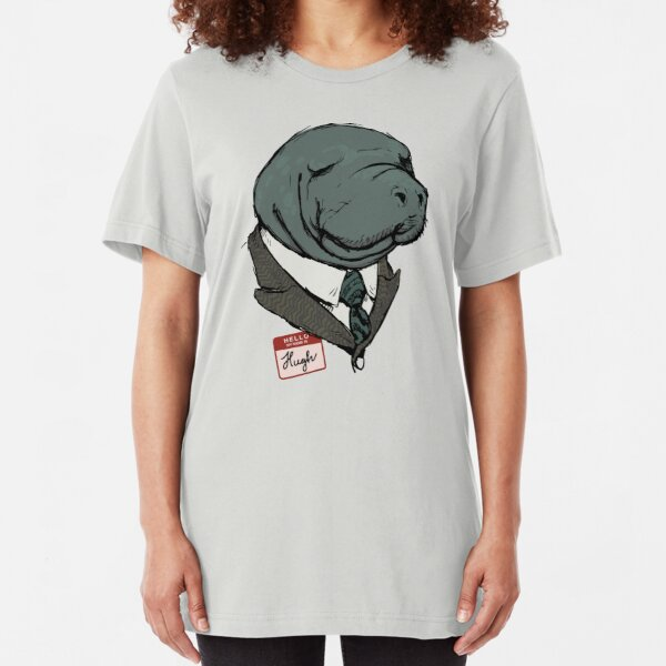 Hugh Manatee Slim Fit T-Shirt