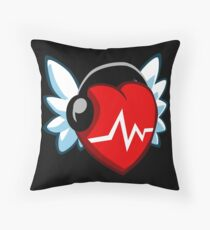 Nebula Music Heart Floor Pillow