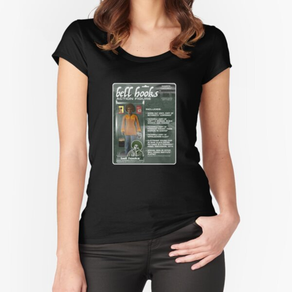 Bell Hooks Action Figure Fitted Scoop T-Shirt