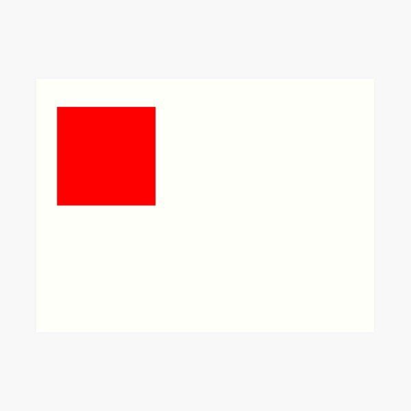 Bandera de bilbao Lámina artística