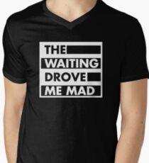 The Waiting Drove Me Mad Pearl Jam  Men's V-Neck T-Shirt
